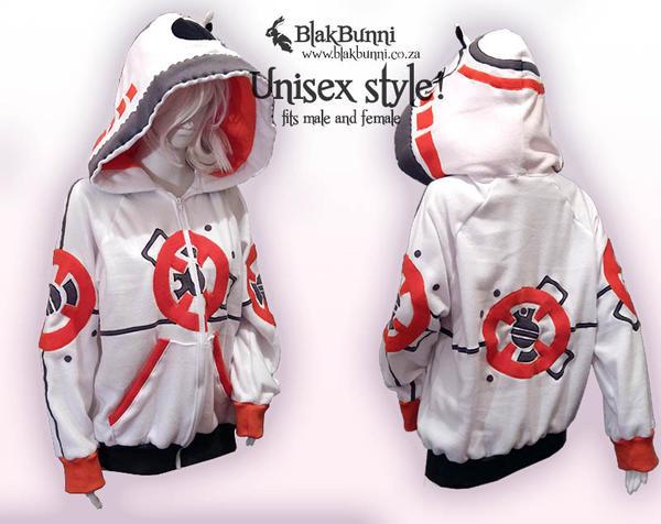 BB8 inspired hoodie by BlakBunni