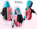 Jinx inspired hoodie by BlakBunni