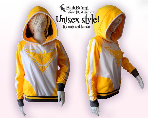 Team Instinct hoodie by BlakBunni
