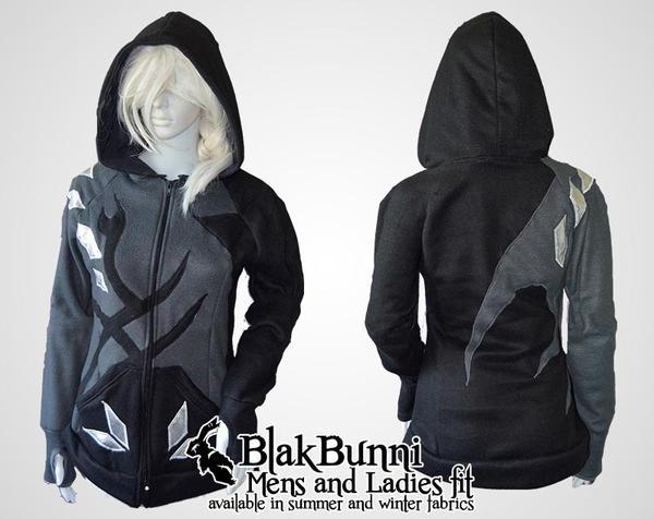 Yuri on ice eros inspired cosplay hoodie by BlakBunni