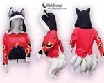 Ahri inspired hoodie by BlakBunni