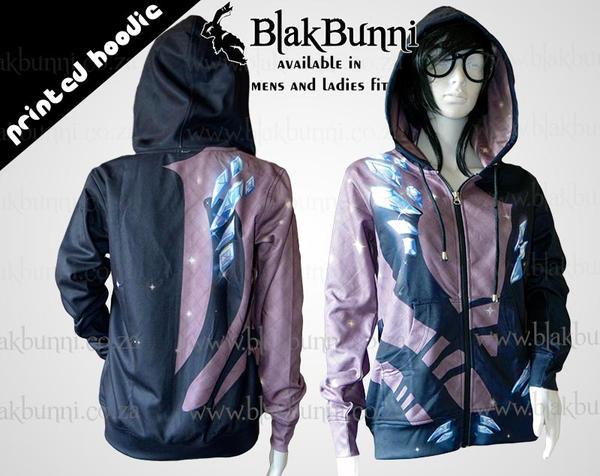 Printed hoodie Eros Yuri on ice by BlakBunni