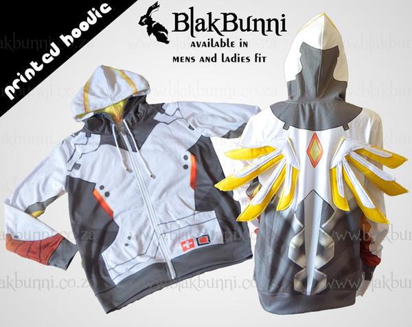 Mercy cosplay hoodie by BlakBunni