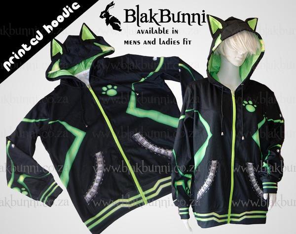 Chat Noir cosplay hoodie by BlakBunni