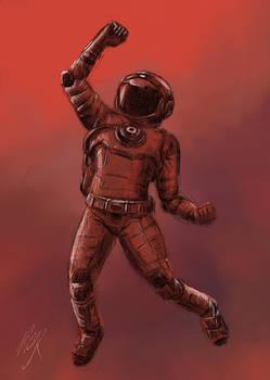 No Mans Sky Spaceman | Gamer Fan Art