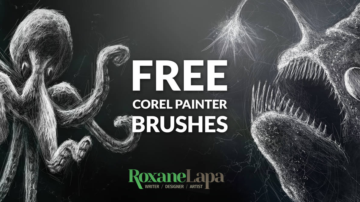 Corel Painter Brush Set for Drawing