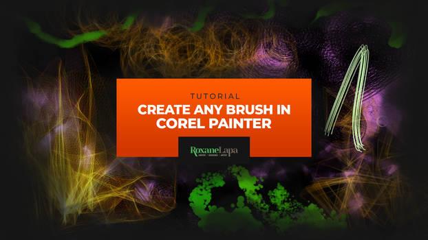 Create custom brushes in Corel Painter | Tutorial