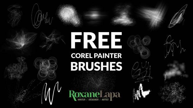 Free Corel Painter Particles Brush Set