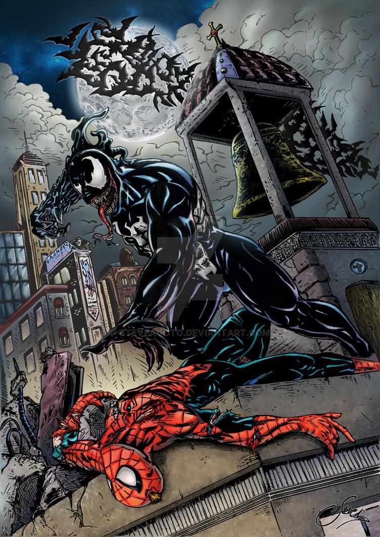 Venom Vs Spiderman by steveagoto on DeviantArt