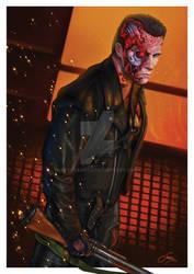 Terminator 2 by steveagoto