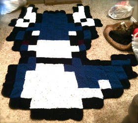 Dratini Pixel Blanket! GIFTED by RosalieBriar