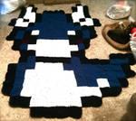 Dratini Pixel Blanket! GIFTED