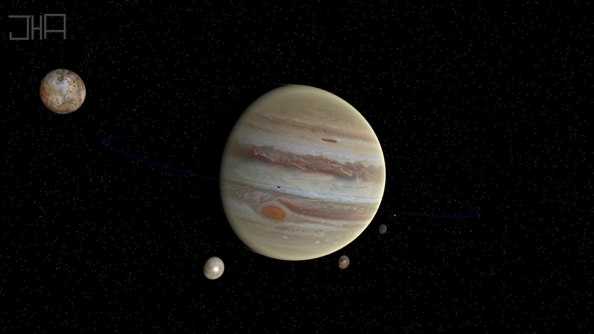Jupiter (Sol V) by Jett-Hill-Artist