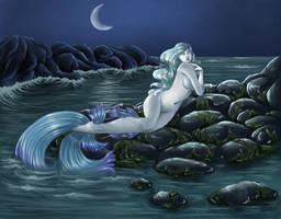 Moonlight Mermaid by Ameza