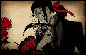 Crows and Lilies by RosesMayCry
