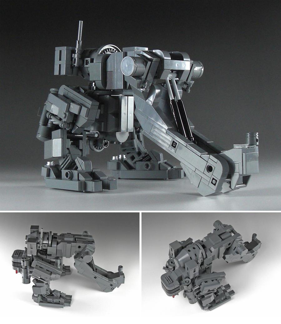 Elephant the Earthmover by izzolegostyle