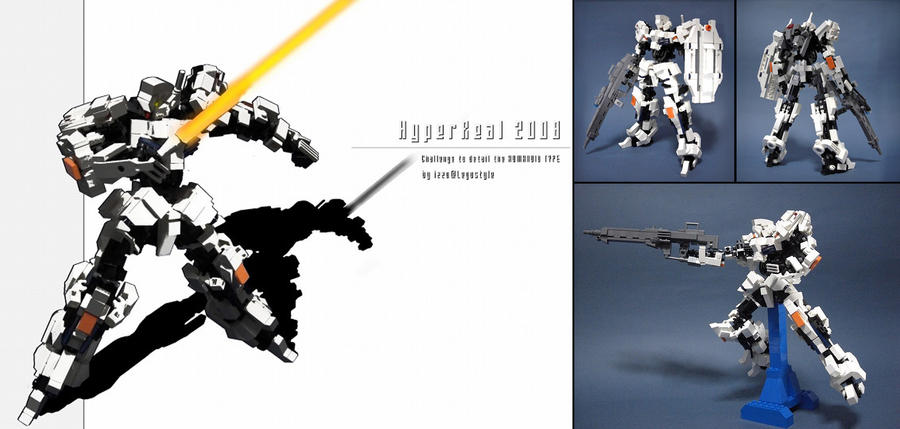 Hyperreal Mech 2008 by izzolegostyle