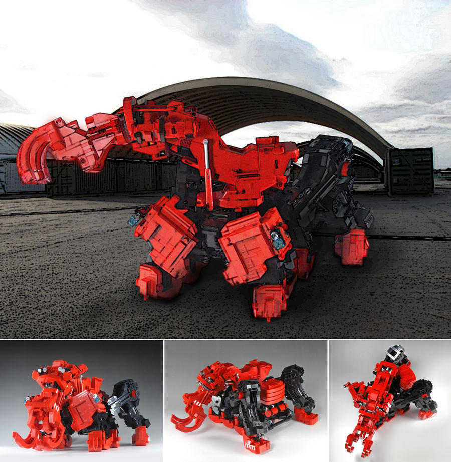 Behemoth by izzolegostyle