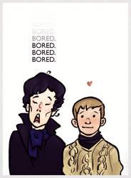 Bored Sherlock