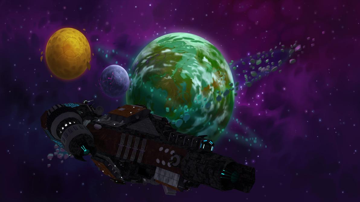 Spacecraft - Mira 2
