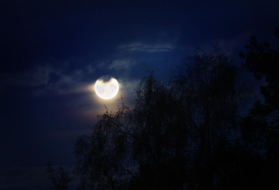 when nights get darker.. by Thunderi