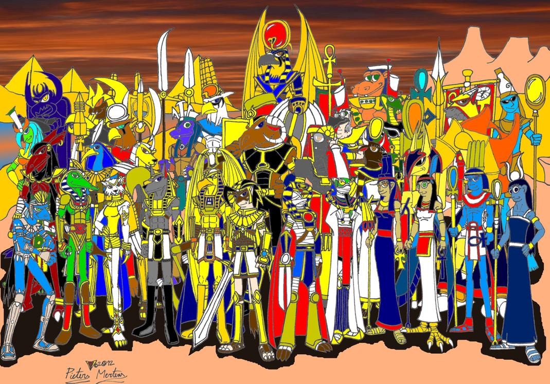 Pharaohs Guardians by DragonSnake9989