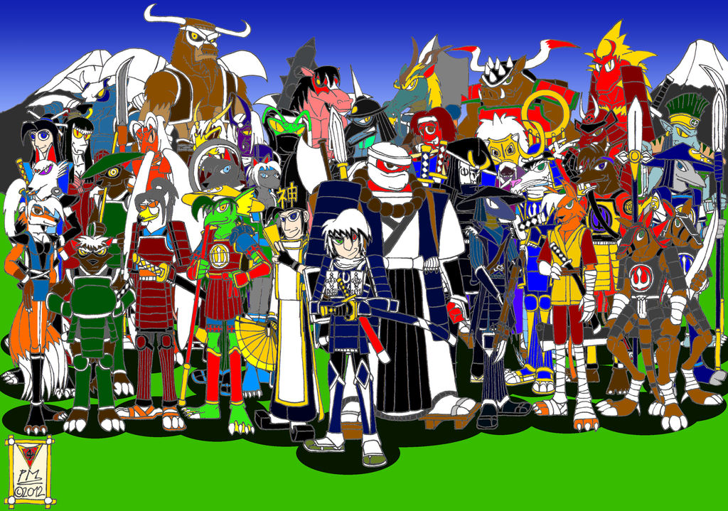 Samurai Shadows of Sengoku 2 - Onimusha Clan by DragonSnake9989 on