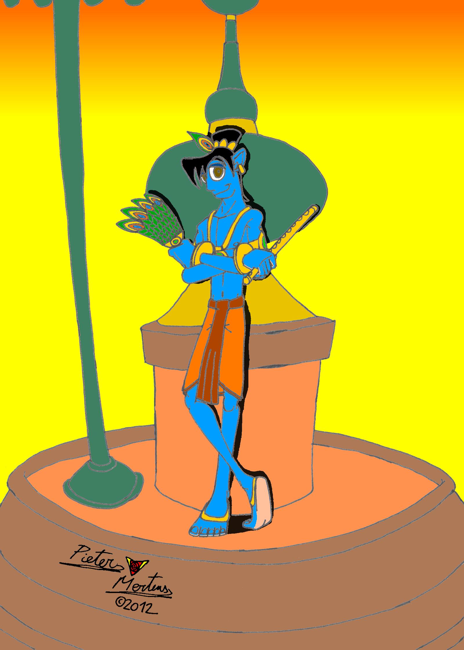 Cartoon Characters Krishna : Kishan the avatar and incarnation of krishna by