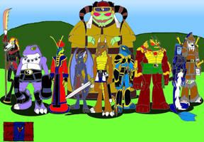 Hagane Clan by DragonSnake9989