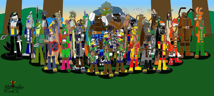 Ancient Sioux Clan 2-3 - Spirit Totem Warriors
