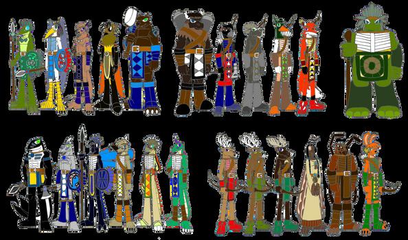 Ancient Sioux Clan 2-3 - Spirit Totem Warriors ext
