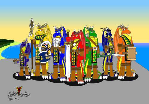 Ancient Sioux Clan 3-3 - Path-Dragons