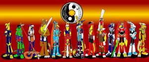 Heroes of the Taoist Lotus Clan by DragonSnake9989