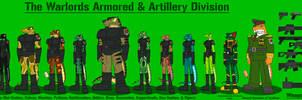 General al Tarakhan and his Army by DragonSnake9989
