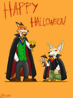 Count Wilde and little Count Finnick by DragonSnake9989
