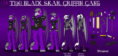 The Black Skar Griffin Gang by DragonSnake9989