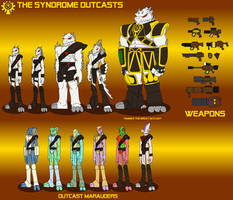 The Syndrome Outcasts by DragonSnake9989