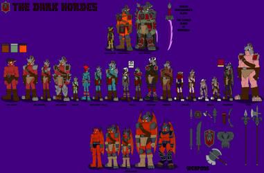 The Dark Hordes by DragonSnake9989
