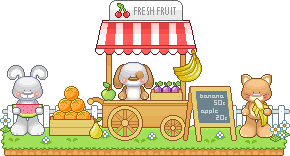 Sweety Fruit Stall by casey-lee