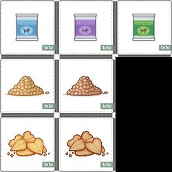 WhuddleWorld Pet Food Items
