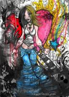 InternalPAINexternalHAPPYNESS by glittersniffer