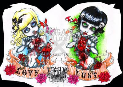 -tattoo design- by glittersniffer