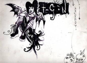 gothy sketch by glittersniffer