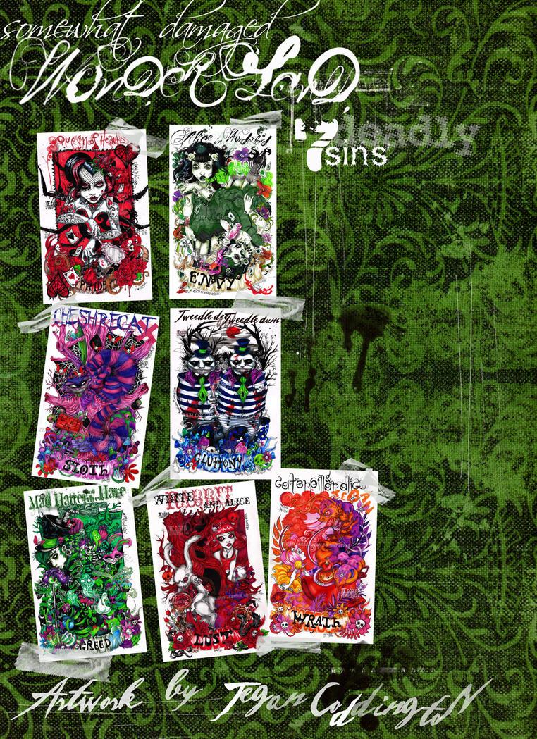 -Wonderland 7 deadly sins- by glittersniffer