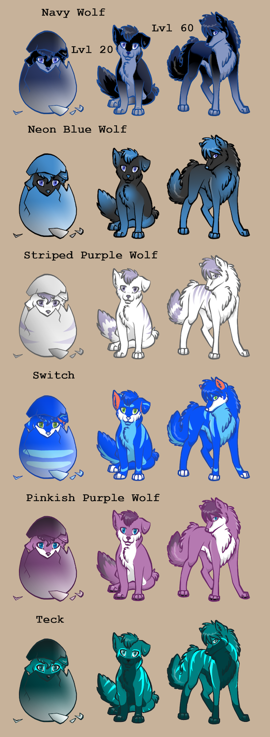 Requested Wolf Spoilers by ZuttoBlueLobo
