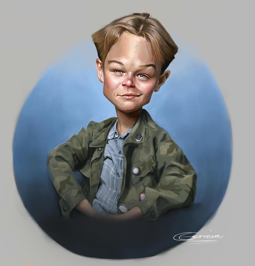 Lil' Leonardo DiCaprio by NightshadeBerry