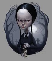 Wednesday Addams by NightshadeBerry