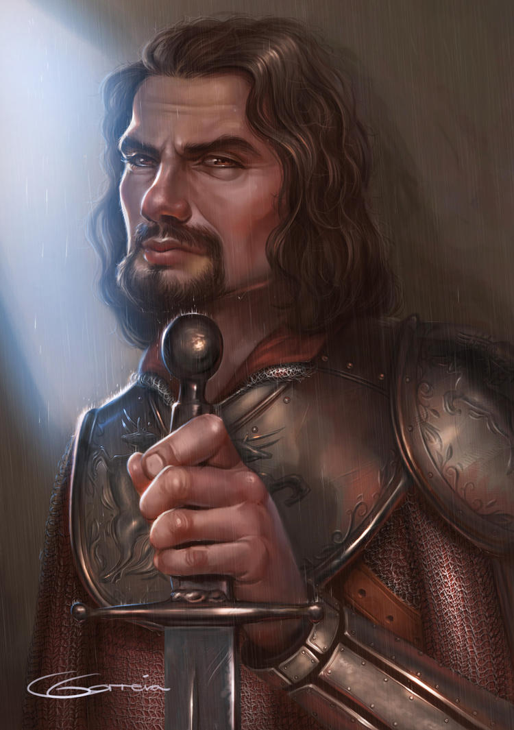 Sir Rowan Portrait by NightshadeBerry