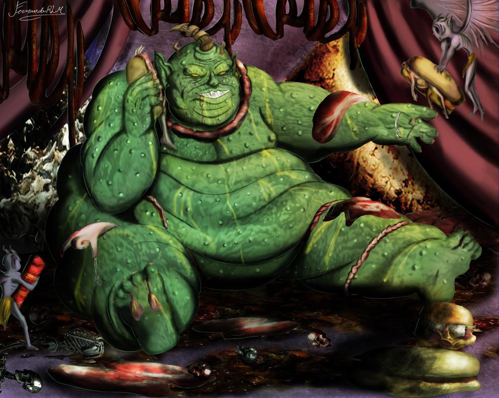 Baalberith Demonio da Gula Demon of Gluttony by Fe-Martins ... Baal Berith Demon