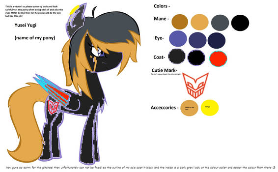 new oc! lots of glitches that can not be fixed!
